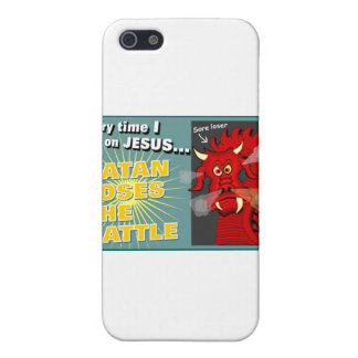 Satan Loses The Battle Christian Gift Case For iPhone 5