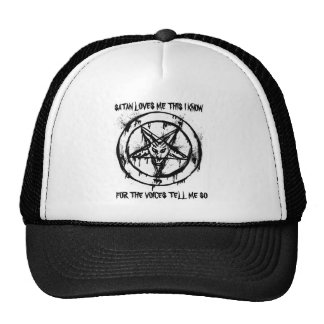 Satan Loves Me Hat