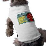 Satan pierde el regalo del cristiano de la batalla camisa de perro