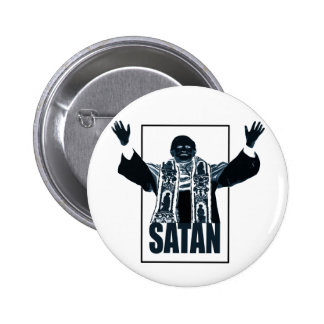 SATAN Pope Button