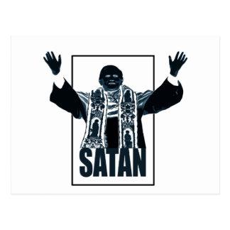 SATAN Pope Postcard