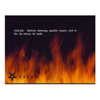 SATAN POSTALES