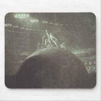 Satan que preside en el consejo infernal, 1824 mouse pad
