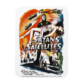Satan's Satellites Rectangular Magnet
