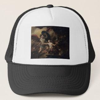 Satan, Sin and Death by William Hogarth Trucker Hat