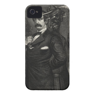 Satan tempting Booth to the murder of the Presiden Case-Mate iPhone 4 Case