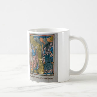 Satan Tempts the King Coffee Mug