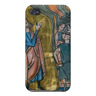 Satan Tempts the King iPhone 4 Case