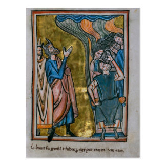 Satan Tempts the King Postcard