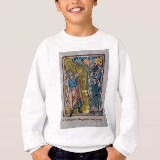 Satan Tempts the King Sweatshirt