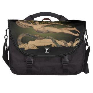 Satan y bolso de la cartera del ordenador portátil bolsas de portatil