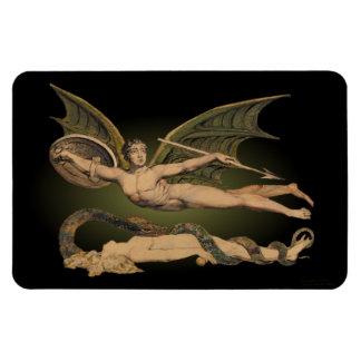 Satan y imán 4x6 de la flexión de Eve