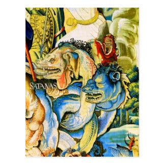Satanas (Satan), Willem de Pannemaker Postal