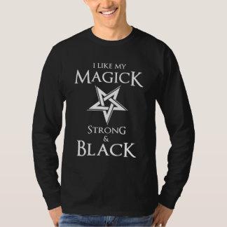 Satanic and Goth Black Magic Witches Pentagram Shirt