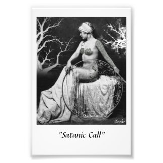 """Satanic Cal "" Photo Print"