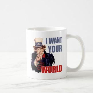 Satanic Capitalist Uncle Sam Coffee Mug