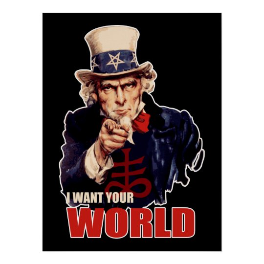 Image result for uncle sam satanic