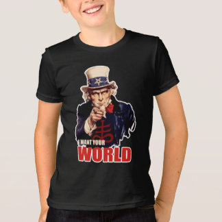 Satanic Capitalist Uncle Sam T-Shirt