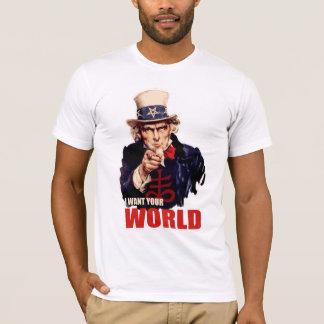 Satanic Capitalist Uncle Sam T-Shirt