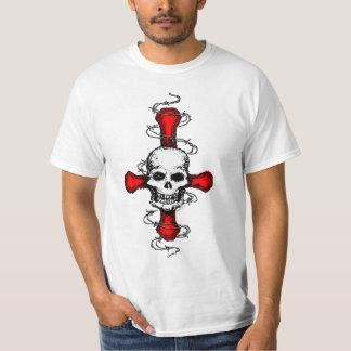 Satanic Cross Skull T-shirt