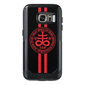 Satanic Cross with Latin Text OtterBox Samsung Galaxy S7 Case