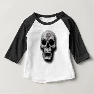 Satanic Evil Skull Design Baby T-Shirt