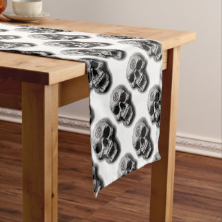 skull table runners | zazzle