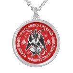 Satanic Goat Headed Baphomet Necklace