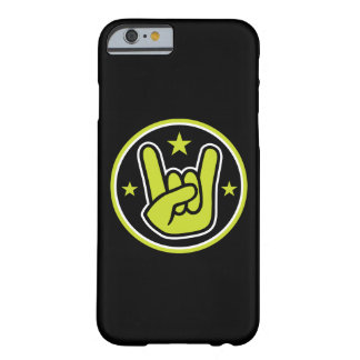Satanic Horns Sign Devil's Hand Metal Gesture Barely There iPhone 6 Case