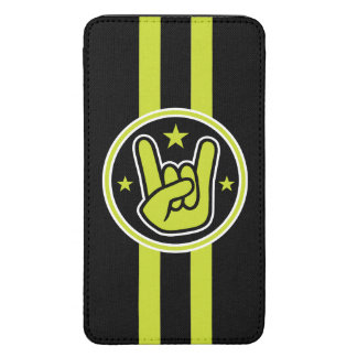 Satanic Horns Sign Devil's Hand Metal Salute Galaxy S5 Pouch