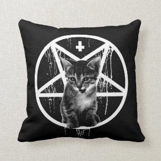 Satanic Kitten Pillow