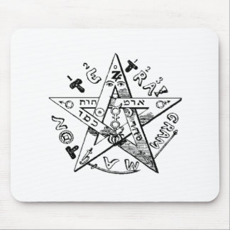 Satanic Pentagram Mouse Pad