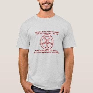 Satanic Pentagram Nursury Rhyme T-Shirt