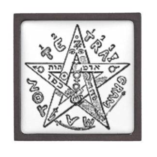 Satanic Pentagram Premium Trinket Boxes