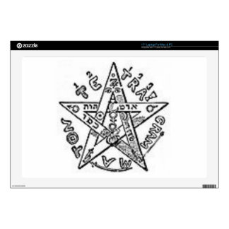 Satanic Pentagram Skins For Laptops