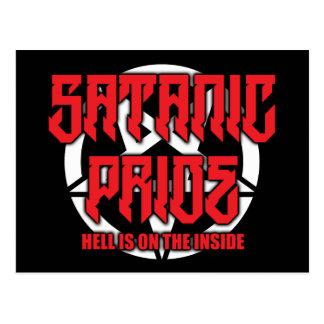 Satanic Pride Postcard