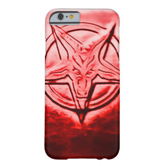 Satanic Seal Art Nouveau Barely There iPhone 6 Case