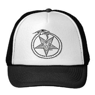 satanic trucker hat