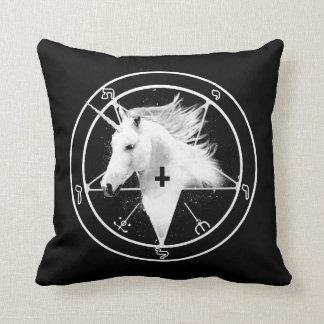 Satanic Unicorn Pillow
