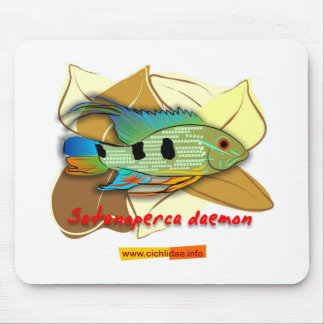 Satanoperca daemon mouse pad