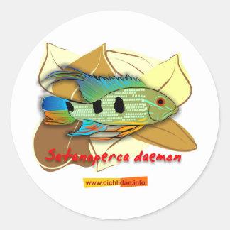Satanoperca daemon stickers