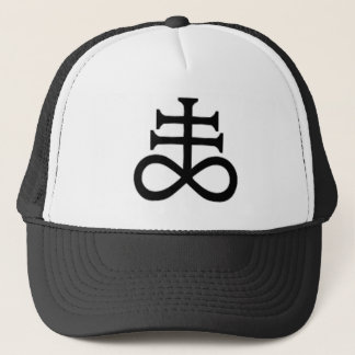 SATAN'S CROSS TRUCKER HAT