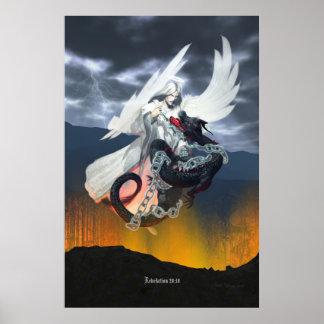 Satan's Doom Print