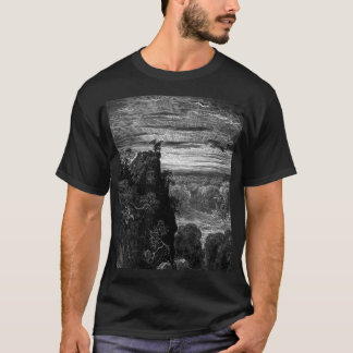 Satan's Journey - Gustave Dore T-Shirt