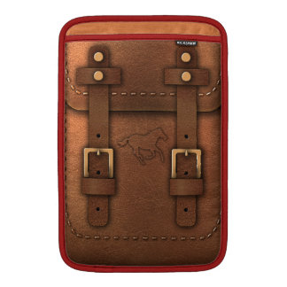 satchel Pony Express leather MacBook Air Sleeve