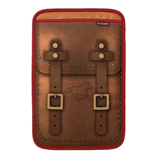 satchel Pony Express leather MacBook Air Sleeves