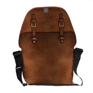 satchel Pony Express leather Messenger Bag