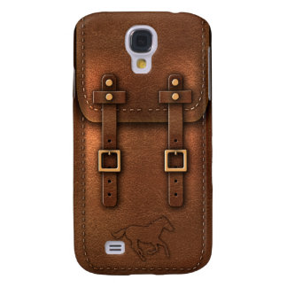 satchel Pony Express leather Samsung Galaxy S4 Case