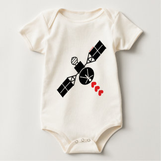 Satélite del amor trajes de bebé