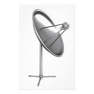 Satelite dish stationery